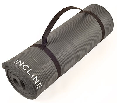Incline Fit Extra Thick Yoga Mat