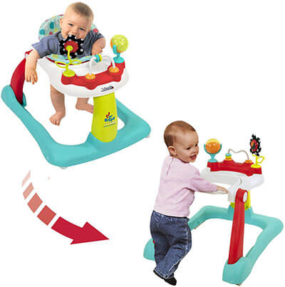 Kolcraft Tiny Steps Jubilee 2-in-1 Activity Walker