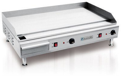 Eurodib SFE04910 Heavy Duty Countertop Electric Griddle
