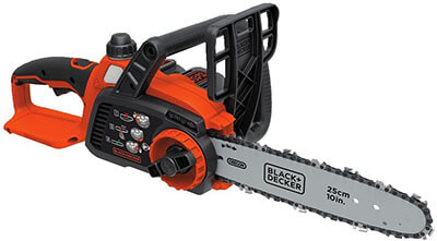 BLACK+DECKER LCS1020 20V MAX Li-Ion Chainsaw