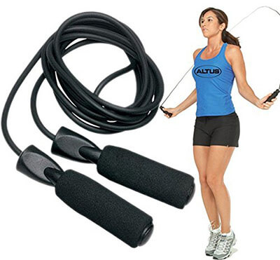 1Roos Adjustable Fitness Skipping Rope