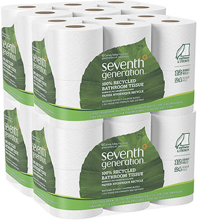Seventh Generation Natural Bathroom Tissue Paper
