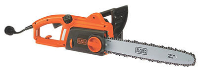 BLACK+DECKER CS1216 Electric Chainsaw – corded