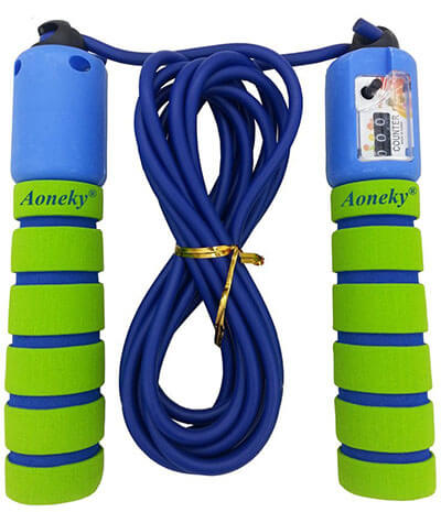 Aoneky Adjustable Kids Exercise Jump Rope