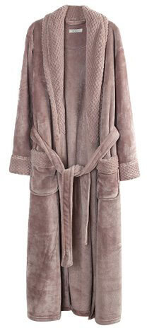Richie House Women's Fleece Bathroom Robe