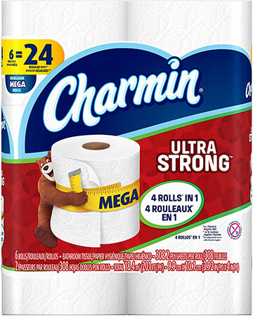 Charmin Mega Roll Ultra Strong Bath Tissue