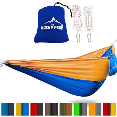 The Rocky Peak Ultralight Camping Hammock