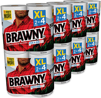 Brawny 16XL Rolls Pick-a-size Paper Towels