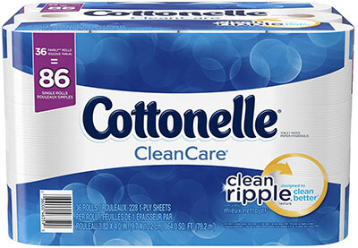 Cottonelle CleanCare Family Roll Bath Tissue