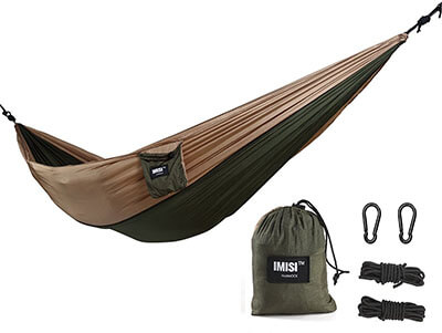 IMISI™ Camping Hammock- Military Grade Parachute Nylon