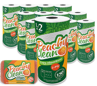 Peachy Clean Premium Paper Towels