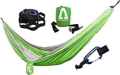 Allegro Outdoors Ripstop Double Hammock & Tabono