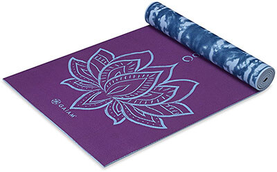 Gaiam Print - Premium Reversible Yoga Mat