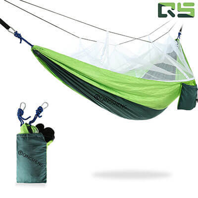 Outdoor Double Camping Hammock by QingSheng