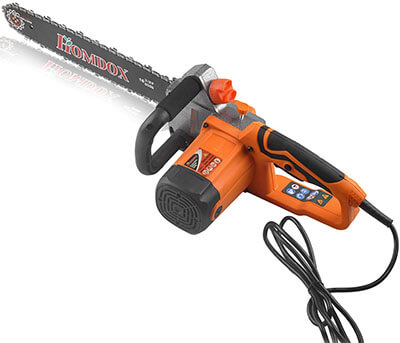 Homdox 16'' 14 Amp Electric Chainsaw Corded Chain Saw