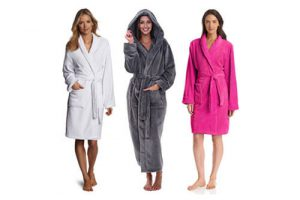 Top 15 Best Bathrobes For Women In 2017 Reviews