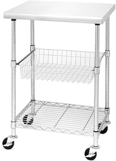 Seville Classics Professional Kitchen Storage Cart