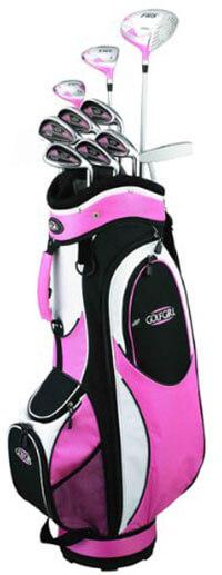 Golf Girl FWS2 PETITE- Lady Pink Hybrid Club
