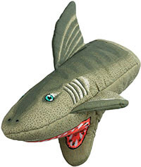 Boston Warehouse Novelty Shark Oven Mitt