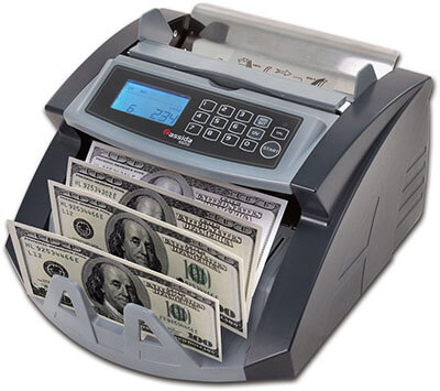 .Cassida 5520 UV/MG Money Counter, Counterfeit Money Detection