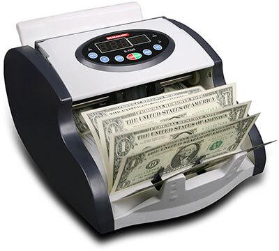 Semacon S-1025 Mini Money Counter, UV/MG Sensor