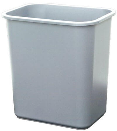 United Solutions WB0062 Plastic Garbage Bin