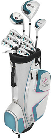 Wilson Women's Hope Right -Handed Complete Golf Set