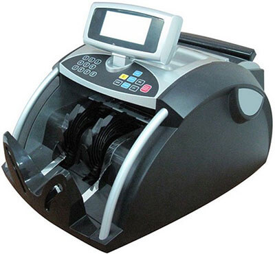 Ribao BC-1200 Bill Currency Counter, Roller Friction System
