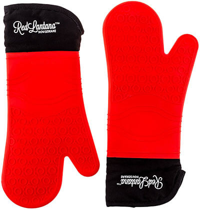 RedLantana 2 Set Silicone Cooking Gloves