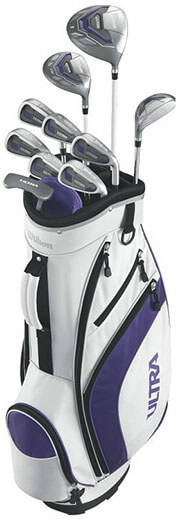 WILSON ULTRA Women's Complete Golf -Club Set