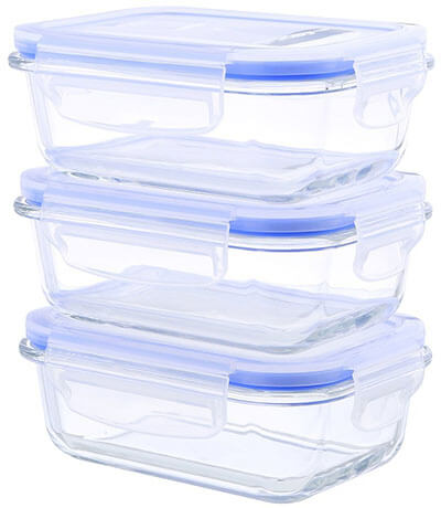 Kinetic Go Green 55093Rectangular Food Storage Containers