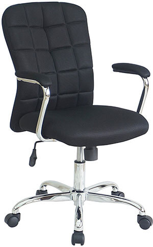 Office Factor Ergonomic with Black Mesh Desk Task and Computer Office Chair