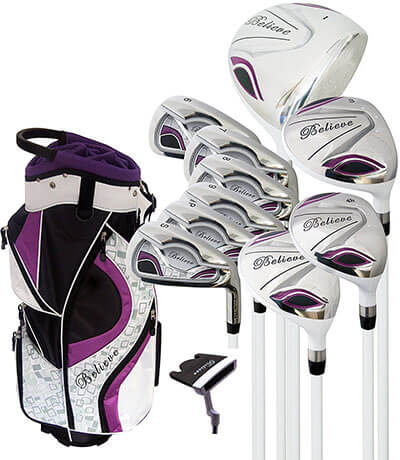 Believe- Ladies Complete Golf Set