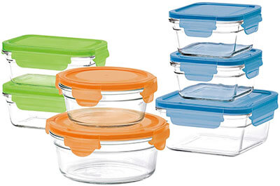 GlassLock 14-Piece Box Set Food Storage Containers