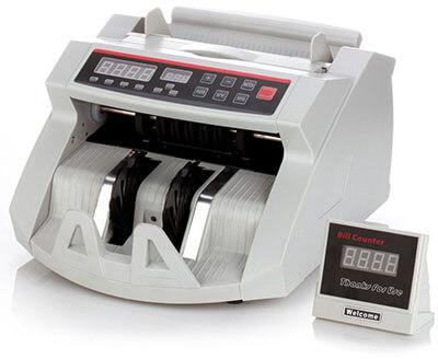 Flexzion Cash Counting Bank Machine, Portable