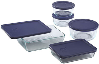 Pyrex 10-Piece Food Storage Set