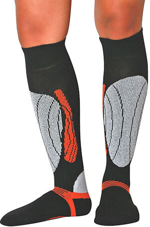 PureAthlete Elite Wool Race Snowboard Socks