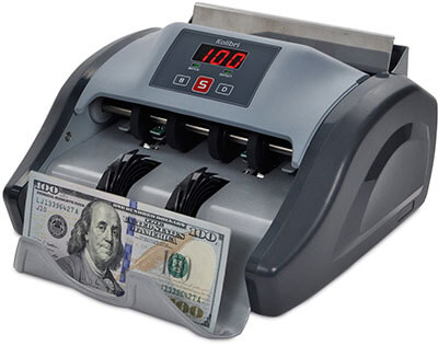 Kolibri Cash Counter, UV Detection