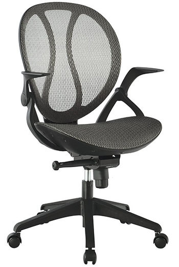 LANGRIA Mid-Back Styling Mesh Executive Office Chair