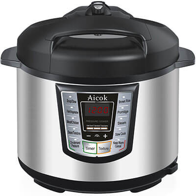 Aicok Multi-Functional Electric Pressure Cooker