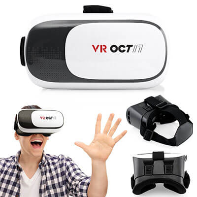 OCT17 VR 2.0 2nd Gen VR 3D Glasses Headset, Adjustable Focal Eye
