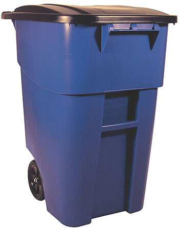 Rubbermaid Commercial Brute Roll-Out Trash Can