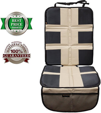 Shmidt'S Baby Car Seat Protector for Infants, Anti-slipping