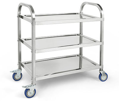 BestValue Go Stainless Steel Kitchen Trolley