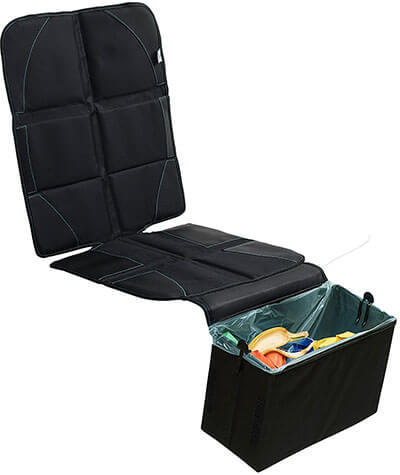 BABYSEATER Car Seat Protector, Inbuilt Trash Bin