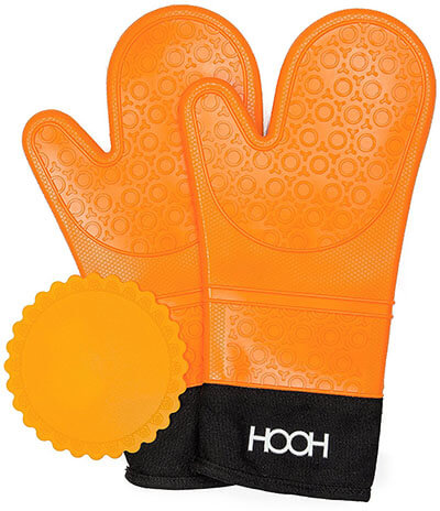Hooh Commercial Grade Oven Mitts Set