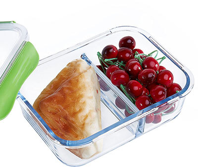 Seleware Glass Storage Containers