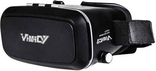Yavic 360 Degrees Viewing Immersive VR Headset, VR Google box 3D Glasses
