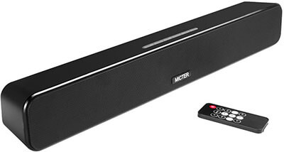 Micter Mini Outdoor Sound Bar Wireless Soundbar