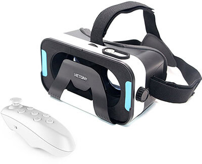 .VICTONY 3D VR headset, for iOS, Android, windows